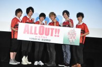 『ALL OUT!!』キャスト陣全員で『ALL OUT!!』を連呼し汗だくに!?