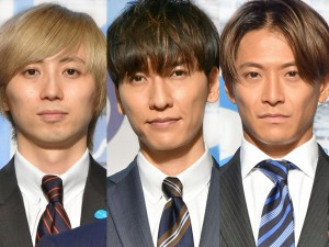 w-inds.(左から、千葉涼平、橘慶太、緒方龍一)